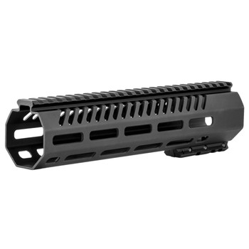 "Mission First Tactical Tekko, MLOK Rail System, Fits AR Rifles, 10"", Free Float, Metal, Black Finish TMARFF10MRS, UPC :814002020856"