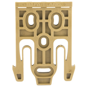 Safariland Model 6004-19 Quick Locking System Holster Fork, Single Kit Only, Coyote Brown Finish 6004-19-76, UPC :781607242146