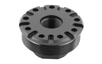 SilencerCo M13x.75, Harvester 338, Omega 300, Hybrid 46 Thread Mount, Black Finish AC2630, UPC :816413025376