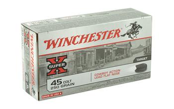 Winchester Ammunition USA, 45LC, 250 Grain, Lead, 50 Round Box USA45CB, UPC : 020892213616