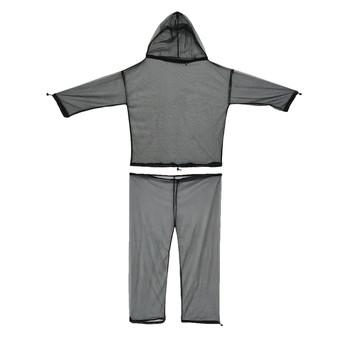 UST - Ultimate Survival Technologies No-See-Um Suit, 100% Nylon No-See-Um Netting, L/XL, Peggable Box, Black 20-02259, UPC :811747022596