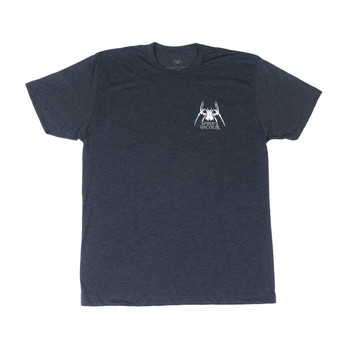Spike's Tactical Tactical Spider Spikes Tactical Tee Shirt, Large, Navy SGT1076-L, UPC :815648025076
