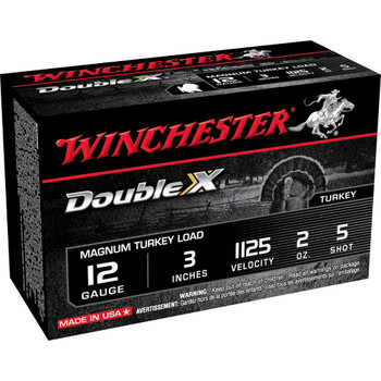 "Winchester Ammunition Supreme Double X Magnum Turkey, 12 Gauge, 3"", #5, 2 oz., Shotshell X123MXCT5, UPC : 020892002036"