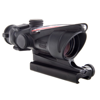 Trijicon ACOG Rifle Scope, 4X 32, Red Crosshair .223 Reticle, Dual Illuminated, w/TA51 Mount, Matte TA31-CH, UPC :719307303386