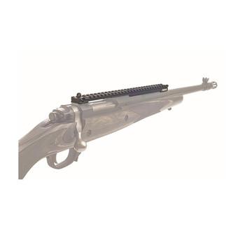 XS Sights Rail, Fits Ruger Gunsite Scout Rifle, Rail with Aperture, Black Finish RU-5000R-N, UPC :647533041126