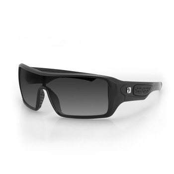 Bobster Paragon Sunglasses-Matte Black with Smoked Lenses, UPC :642608046846