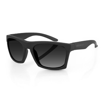 Bobster Capone Sunglasses w/Matte Black Frame and Smoked Len, UPC :642608048796