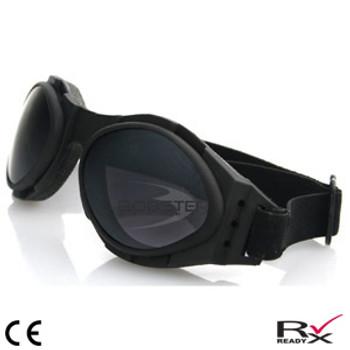 Bobster Bugeye 2 Interchange Goggle Black Frame 3 Lenses, UPC :642608587646