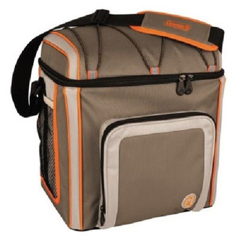 Coleman16 Can Soft Cooler Outdoor With Liner Tan 3000002169, UPC : 076501383706