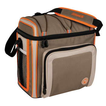 Coleman 30 Can Soft Cooler Outdoor With Liner Tan 3000002168, UPC : 076501383836