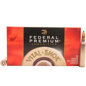 Federal Premium Vital-Shok Ammunition 7mm Remington Magnum 140 Grain Nosler Partition Spitzer Box of 20, UPC : 029465084936