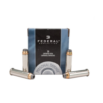Federal Premium Personal Defense Ammunition 357 Magnum 158 Grain Jacketed Hollow Point Box of 20, UPC : 029465093006