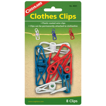 Clothes Clips 8 pk, UPC : 056389080416