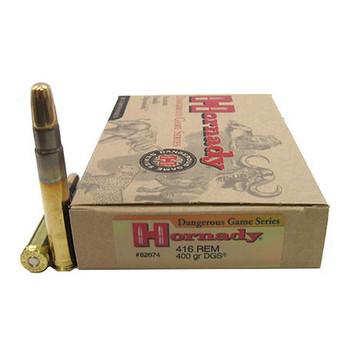 CASE OF 6 AMMO DG 416 REM 400GR DGS 20/BX, UPC : 090255826746