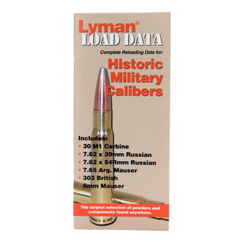 Lyman Load Data Book Old Military Rifle, UPC : 011516900166