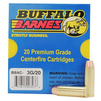 Buffalo Bore Ammunition 45 Colt (Long Colt) +P 225 Grain Barnes XPB Hollow Point Lead-Free Box of 20, UPC :651815003276