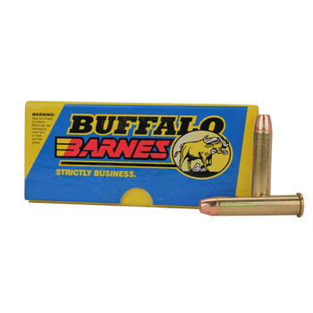 Buffalo Bore Ammunition 45-70 Government 300 Grain Barnes TSX Hollow Point Lead-Free Box of 20, UPC :651815008066