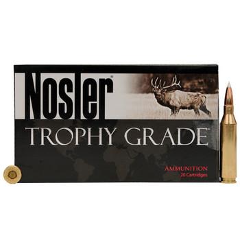 Nosler Trophy Grade Ammunition 223 Remington 55 Grain E-Tip Varmint Lead-Free Box of 20, UPC : 054041600286