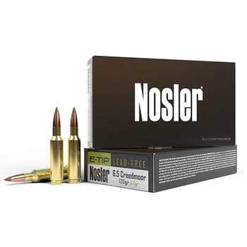 Nosler E-Tip Ammunition 6.5 Creedmoor 120 Grain E-Tip Lead-Free Box of 20, UPC : 054041403986
