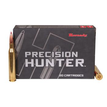 Hornady Precision Hunter Ammunition 25-06 Remington 110 Grain ELD-X Box of 20, UPC : 090255381436