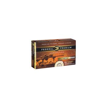 GOLD MEDAL 308 WIN 185GR BRG OTM 20RD/BX, UPC :604544624076