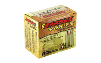 Barnes VOR-TX, 10MM, 155 Grain, XPB, Jacketed Hollow Point, Lead Free, 20 Round Box 31180, UPC :716876101559