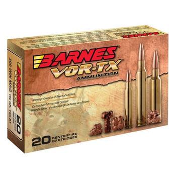 Barnes VOR-TX, 223 Rem, 55 Grain, Triple Shock X, Lead Free, 20 Round Box 21520, UPC :716876022359