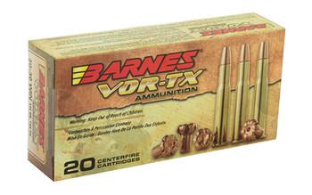 Barnes VOR-TX, 30-30, 150 Grain, Triple Shock X, Flat Nose, Lead Free, 20 Round Box 21535, UPC :716876030309