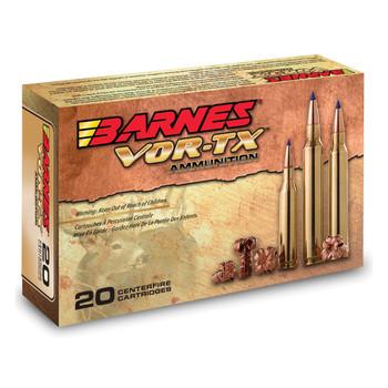 Barnes VOR-TX, 35 Whelen, 180 Grain, Tipped Triple Shock X, Lead Free, 20 Round Box 21581, UPC :716876035809
