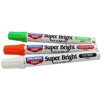Birchwood Casey Super Bright Pen Kit, Green/Red/White, Blister Card 15116, UPC : 029057151169