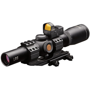 Burris MTAC Rifle Scope, 1-4X 24, 30mm, Ballistic CQ 5.56 Illuminated Reticle, with FastFire III & P.E.P.R. Mount, Matte Finish 200437-FF, UPC : 000381043719