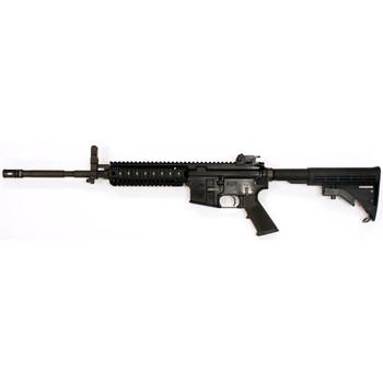 "Colt's Manufacturing M4-LE6940, Semi-automatic, 223 Rem/556NATO, 16"" Chrome Lined M4 Profile Barrel, A2 Flash Hider, Matte Black Finish, 4 Position Collapsible Stock, Magpul Backup Flip Sights, 30Rd, Four Rail Handguard,Does Not Have Law Enforcement"