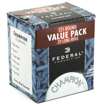 Federal Champion, 22LR, 36 Grain, Hollow Point, 525 Round Brick 745, UPC : 029465057169