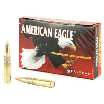 Federal American Eagle, 300 Blackout, 150 Grain, Full Metal Jacket, 20 Round Box AE300BLK1, UPC :604544617009