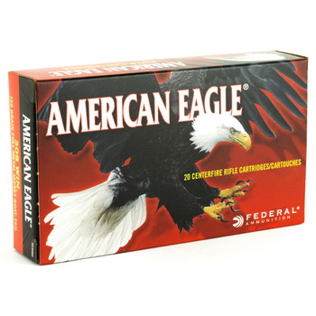 Federal American Eagle, 308WIN, 150 Grain, Full Metal Jacket, 20 Round Box AE308D, UPC : 029465085339