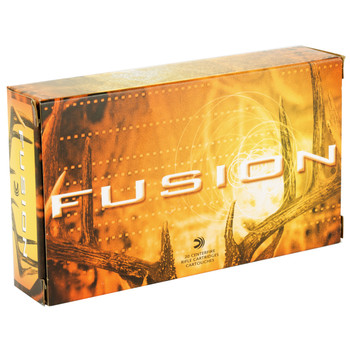 Federal Fusion, 25-06REM, 120 Grain, Boat Tail, 20 Round Box F2506FS1, UPC : 029465098599