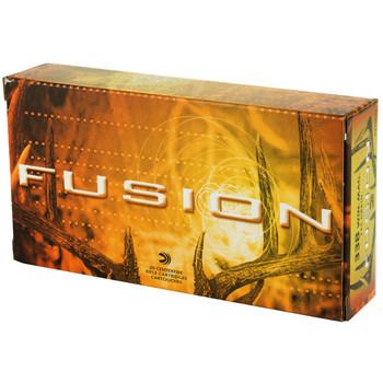 Federal Fusion, 338 WIN MAG, 225 Grain, Boat Tail, 20 Round Box F338FS1, UPC : 029465098629