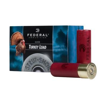 "Federal Strut Shok, 12 Gauge, 3"", #6, 4 Dram, Lead Shot, 10 Round Box FT158F6, UPC : 029465028299"