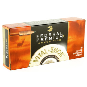 Federal Vital-Shok, 243 Win, 85 Grain, Trophy Copper, Lead Free, 20, Round Box P270TC1, UPC : 029465063399
