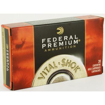 Federal Vital-Shok, 260REM, 120 Grain, Nosler Ballistic Tip, 20 Round Box P260B, UPC : 029465096649