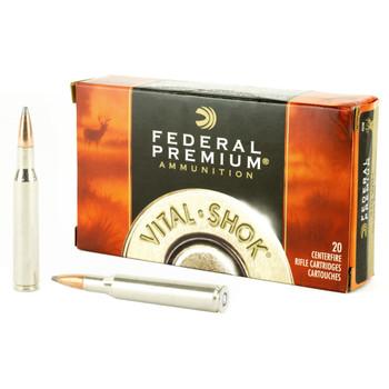 Federal Vital-Shok, 270WIN, 150 Grain, Nosler Partition, 20 Round Box P270E, UPC : 029465084929