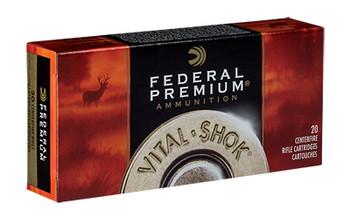 Federal Vital-Shok, 30-06, 165 Grain Nosler Ballistic Tip , 20 Round Box P3006Q, UPC : 029465090319