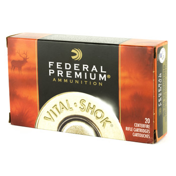 Federal Vital-Shok, 30-06, 200Gr, Trophy Bonded Bear Claw, 20 Rounds Per Box P3006T5, UPC : 029465063269