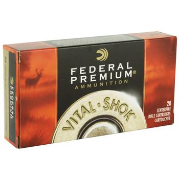 Federal Vital-Shok, 7MM REM, 150 Grain, Boat Tail, Soft Point, 20 Round Box P7RD, UPC : 029465084479