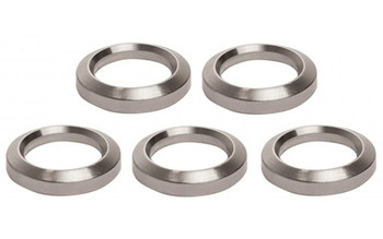"""Advanced Technology AR-15 Crush Washer 5 Pack, Fits Over 1/2""""-28 Threads, Stainless Steel Finish A.5.10.2254, UPC :758152790019"""