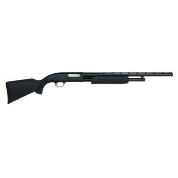 "Mossberg 88, Pump Action, 20 Gauge, 3"" Chamber, 22"" Vent Rib Barrel, Blue Finish, Synthetic Stock, Bead Sights, 5Rd, 1 Choke Tube 32202, UPC : 049533322029"