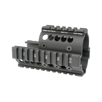 Midwest Industries Forearm for Mini Draco Pistol, 4-Rail Handguard, Black MI-AK-MD, UPC :816537012559