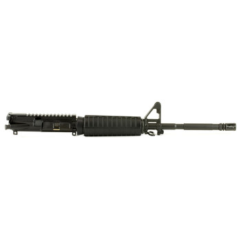 "Bushmaster Upper M4A3 ,223 Rem/556NATO, 16"" Barrel, Bayonet Lug and A2 Birdcage Flash Hider, Flat Top, Black Finish, Complete Barrel Assembly w/BCG 91823, UPC :604206918239"