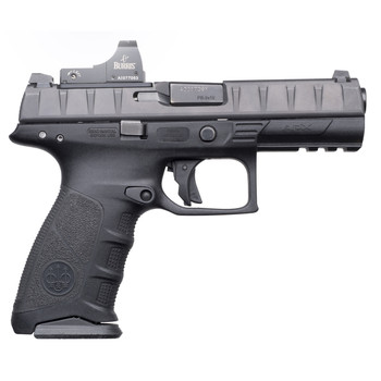 """Beretta APX, Semi-automatic, Striker Fired, Full Size Pistol, 9mm, 4.25"""" Barrel, Polymer Frame, Black Finish, 15Rd, 2 Mags, 3 Dot Sights JAXF42170, UPC : 082442894539"""