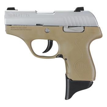 "Beretta PICO, Semi-automatic, Sub Compact, 380ACP, 2.7"", Polymer, Flat Dark Earth, 6Rd, Has the Upgraded Sticker JMP8D55, UPC : 082442893129"